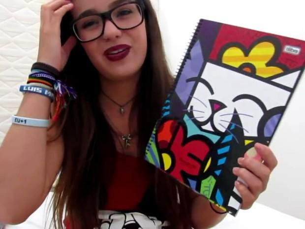 Youtuber já havia confundido uma obra de Romero Britto com obra de Picasso (Foto: Reprodução/Youtube/Viih Tube)
