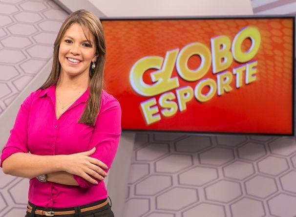Tâmara Oliveira assumiu a apresentação do GE Sergipe, após reformulação (Foto: Divulgação / TV Sergipe)