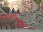 Tremor atinge centro da Itália, deixa feridos e derruba imóveis históricos