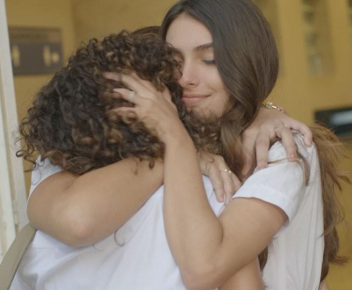 Luciana, Vera e Lívia unidas!  (Foto: TV Globo)