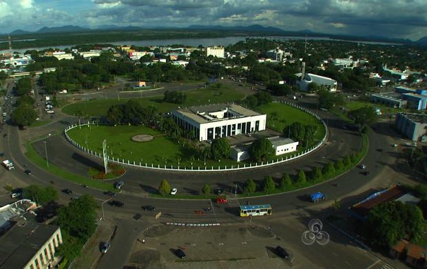 Centro de Boa Vista, capital de Roraima (Foto: Roraima TV)