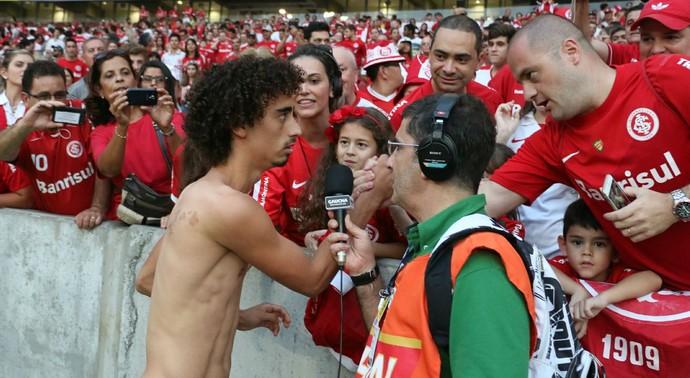 Valdívia meia Inter Internacional Brasil de Pelotas (Foto: Diego Guichard / GloboEsporte.com)