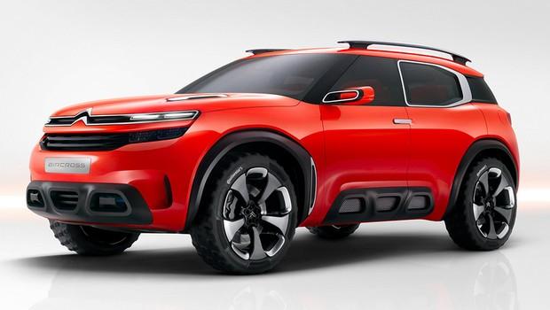 Citroën Aircross Concept (Foto: Citroën)