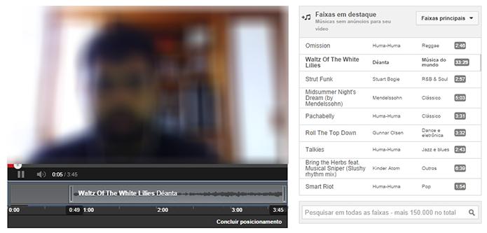 Insira faixas de áudio e edite sua posição no vídeo (Foto: Reprodução/Paulo Alves)