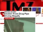 Site flagra atriz dirigindo sem carteira e fumando cachimbo suspeito