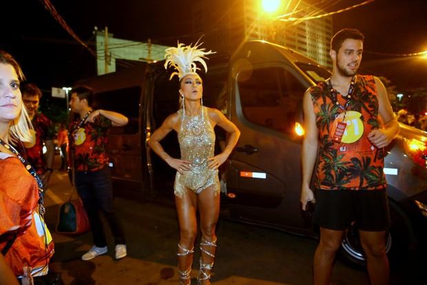 Sabrina Sato chegando no Camarote (Foto: JC Humberto / Agnews)