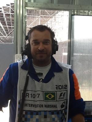 Jamelli socorrista GP do Brasil (Foto: Arquivo Pessoal)