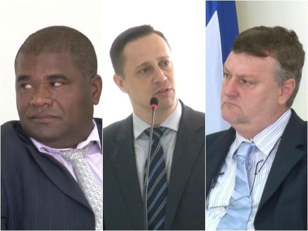 Vereadores presos em Vilhena (Foto: Arte G1)