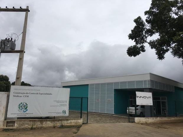 Unidade de Cuidado Integral à Saúde da Região Norte do Espírito Santo, o Cuidar Norte (Foto: Divulgação/Sesa-ES)