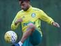 """Allione comemora retomada no Palmeiras e esquece lesões: """"Passou"""""""
