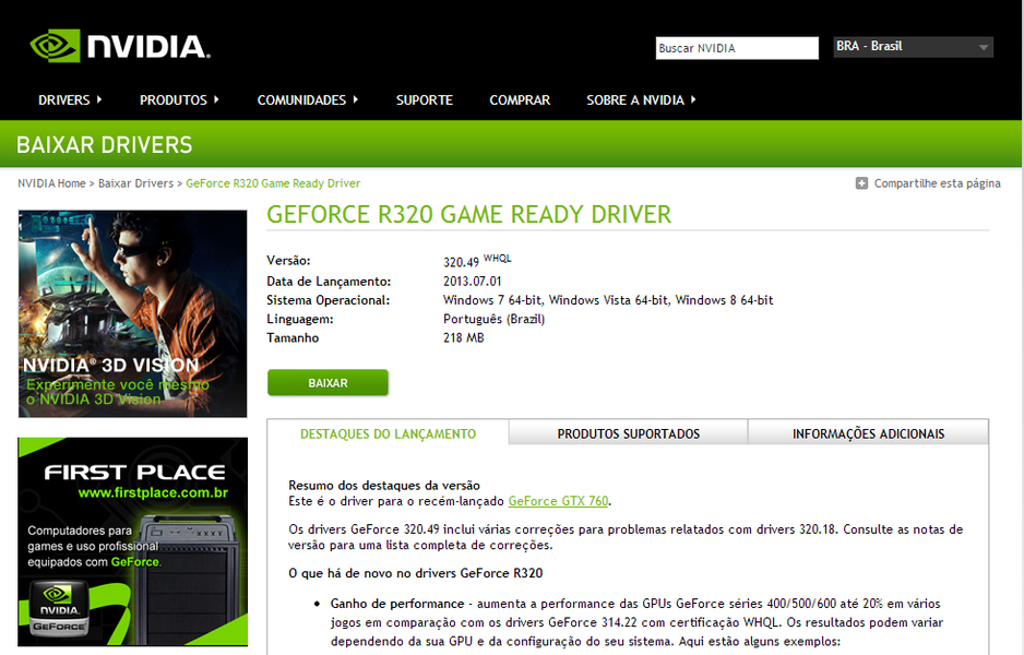 Nvidia Driver Downloads And Nothing Happens