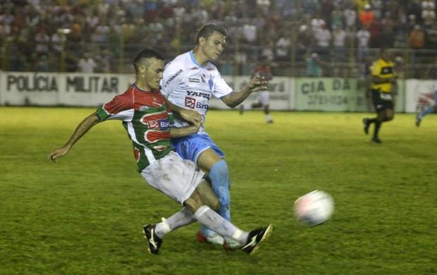Rafael Oliveira não marcou gol contra o Cametá (Foto: Marcelo Seabra/O Liberal)