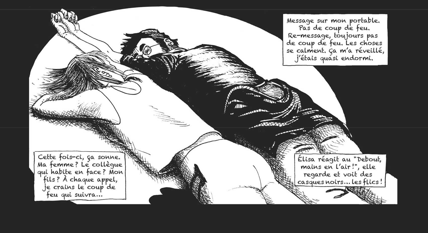 Fred Dewild teve que fingir que estava morto para escapar de ataque no Bataclan (Foto: Lemieux Éditeur/Reprodução)