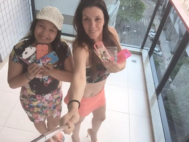 Simony e Aysha (Foto: Arquivo Pessoal)