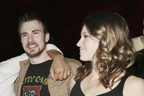 Chris Evans e Jessica Biel (Foto: Getty Images)
