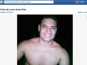 Lucas Dias (Foto: Reprodução/Facebook)