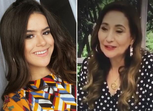 Maisa Silva; Sonia Abrão (Foto: Reprodução/Instagram)