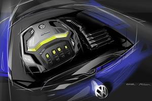 Volkswagen Golf R 400 (Foto: Divulgação)
