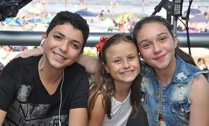 Wagner Barreto, Rafa Gomes e Pérola Crepaldi (Foto: Divulgação/RPC)