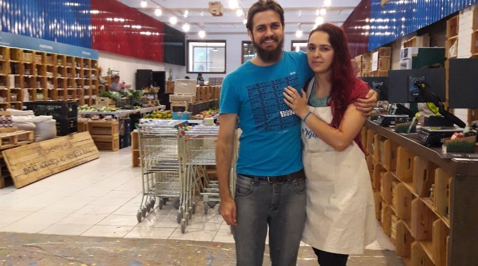 Naila e Alessandro Duarte, fundadores da Casa Orgânica (Foto: Divulgação)