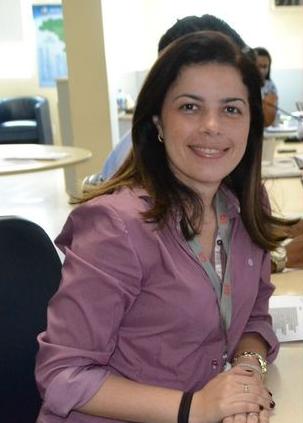 Joelma Gonçalves é coordenadora do G1 Sergipe (Foto: Divulgação / TV Sergipe)