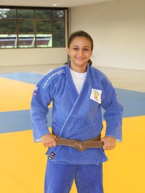 Giovna Silvério, judô Uberlândia (Foto: Divulgação/ Assessoria)