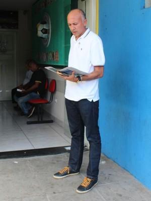 Warton Lacerda, presidente do Altos (Foto: Joana D'arc Cardoso/GloboEsporte.com)