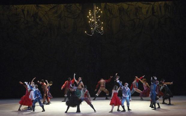 Balé do Teatro Guaíra vai apresentar o espetáculo 'Romeu e Julieta' (Foto: Teatro Balé Guaíra/ Divulgação)