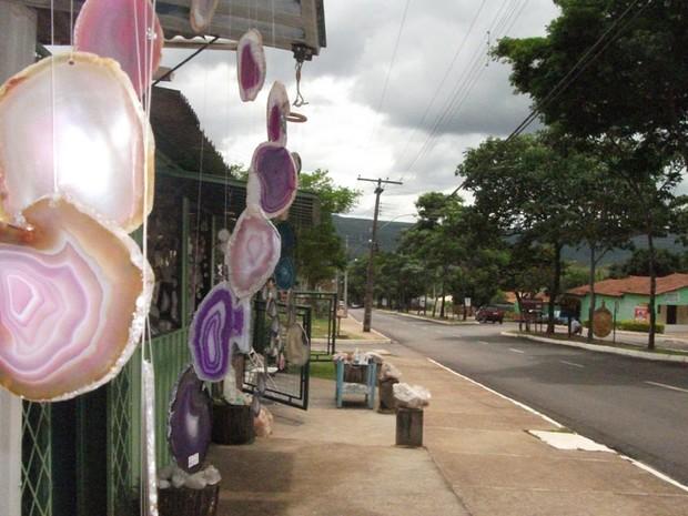 Alto Paraíso, Goiás, espera receber cerca de 10 mil pessoas no próximo dia 21 de dezembro (Foto: Elisângela Nascimento/G1)