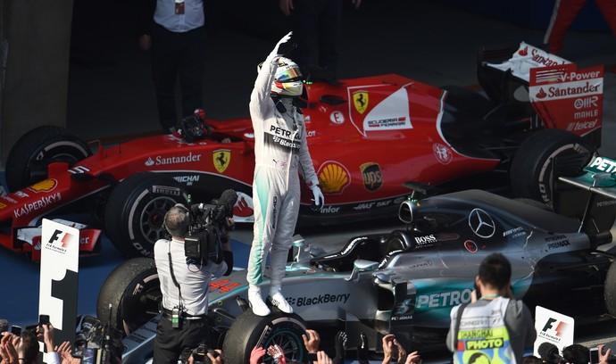Lewis Hamilton vence GP da China de Fórmula 1 (Foto: AFP)