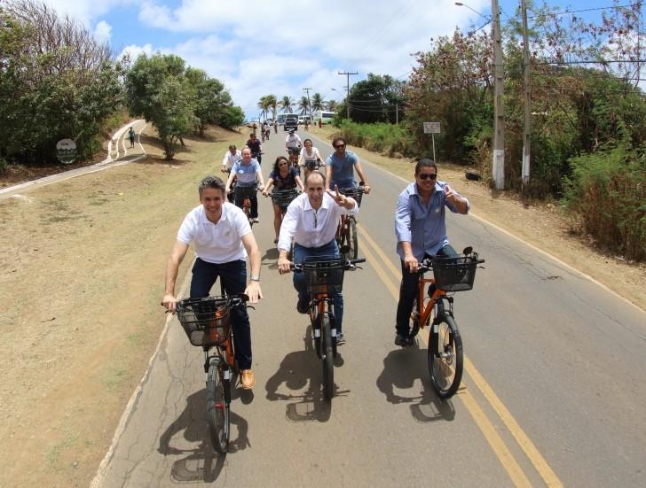 Bicicletas em Noronha