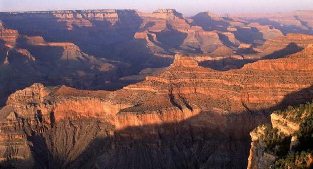 O Grand Canyon, no Colorado, com sua paisagem espetacular, foi declarado Patrimônio da Humanidade em 1979 pela Unesco (Foto: BBC)