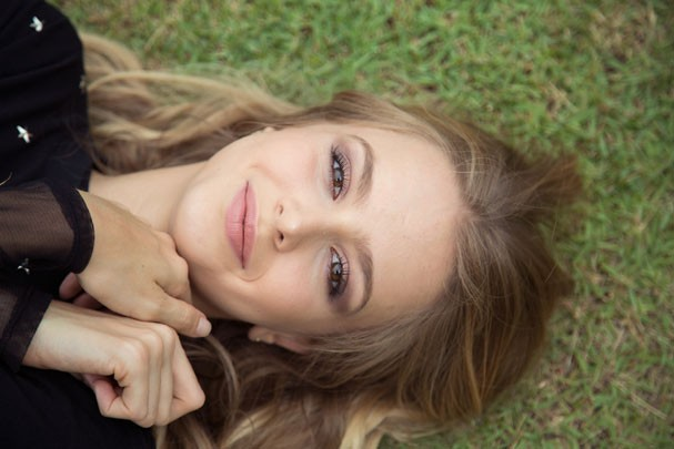 Aos 21, a filha do nadador Xuxa se muda pro Rio e dá salto na carreira ao integrar o novo elenco de Malhação (Foto: Acervo pessoal)