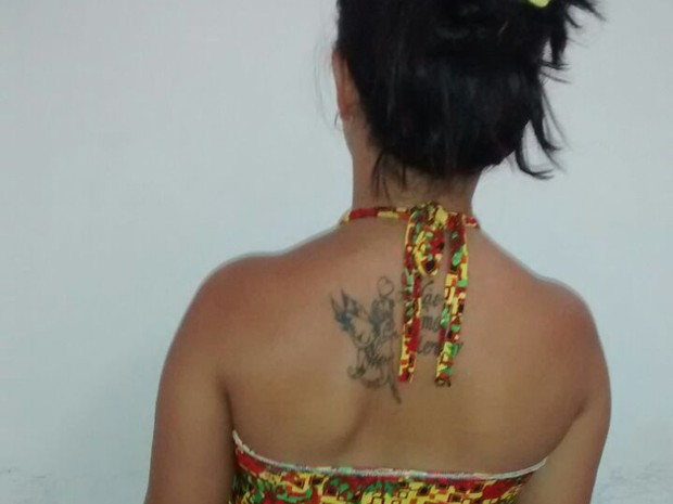 Mãe foi presa no Maranhão após divulgação de vídeo (Foto: Polícia Civil/Divulgação)