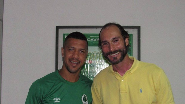 Antônio Carlos e Thiago Alves, reforços do Boavista