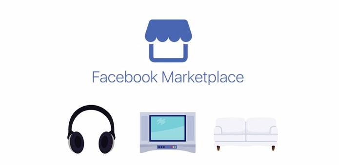 Facebook anuncia o Marketplace para facilitar compra e venda de produtos (Foto: Divulgação/Facebook)