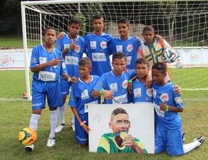 Pequeno Nazareno, Futebol de Rua, Copa do Mundo, Brasil (Foto: Arquivo Pessoal/Pequeno Nazareno)