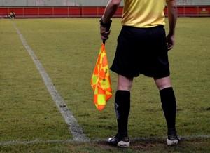 Arbitragem Campeonato Acreano (Foto: Nathacha Albuquerque)