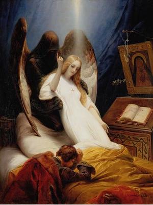 O Anjo da Morte (1851)  (Foto: Pintura: Horace Vernet/Reprodução)