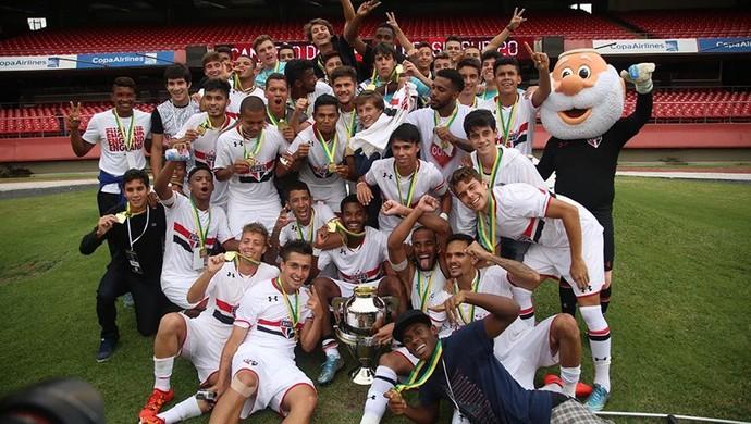 São Paulo sub-20 (Foto: Rubens Chiri/Sãopaulofc.net)