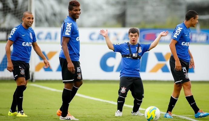 Caio Tadeu Batista no Corinthians (Foto: Daniel Augusto Jr / Agência Corinthians)