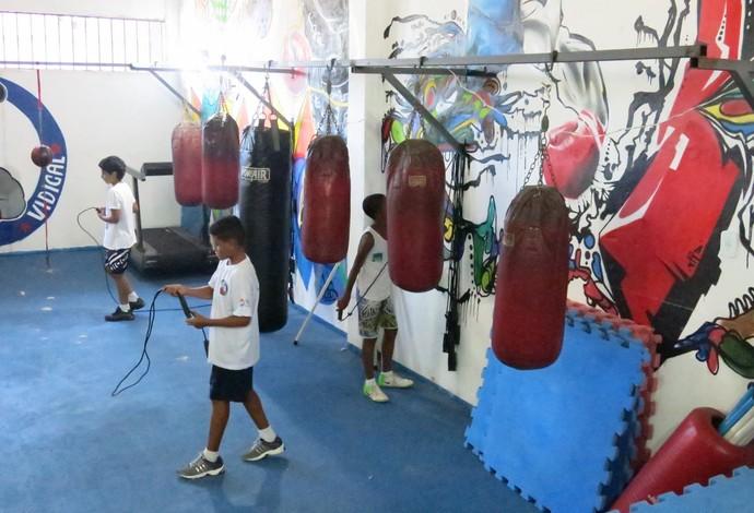 Instituto Todos na Luta boxe (Foto: Flávio Dilascio)