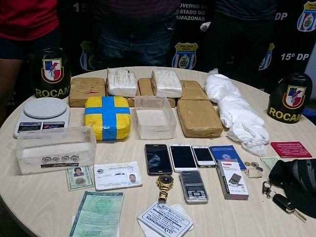Caso foi registrado no 15º Distrito Integrado de Polícia (DIP) (Foto: Divulgação/PM)