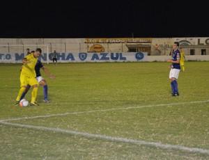 Atlético-PB x Treze, no Perpetão (Foto: Ângelo Lima / GloboEsporte.com/pb)