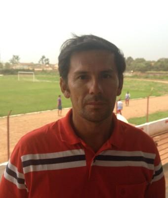 Hernan Oliveira, novo técnico do Guajará, RO (Foto: Dayanne Saldanha)