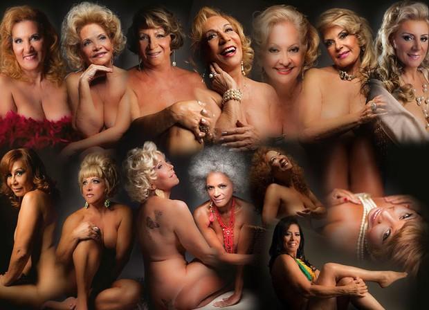 Senhoras do Calendário (Foto: Senhoras do Calendário/ Divulgação)