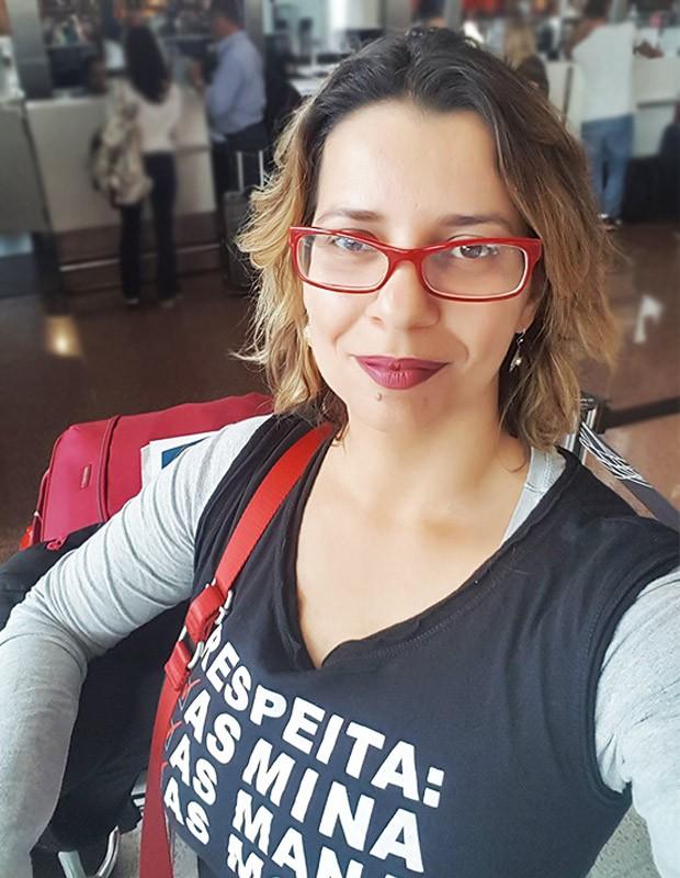 A advogada Ana Lúcia Keunecke, vítima de um estupro em um encontro pós Tinder (Foto: Reprodução: Facebook)