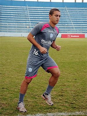Fausto treina pelo Marília (Foto: Ed Dourado/Marília AC)