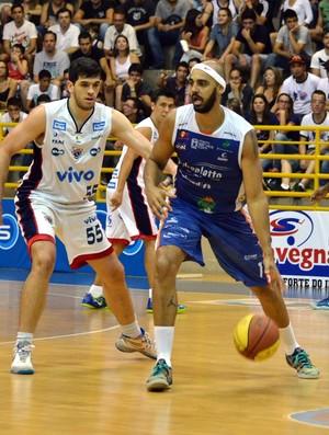 Franca x Bauru Basquete, pela semifinal do Paulista (Foto: Henrique Costa / Bauru Basket)