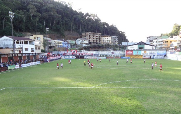 Estádio Doutor Arthur Gerhardt, em Campinho (Foto: Divulgação/Prefeitura de Domingos Martins)